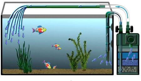 Фильтрация аквариумной воды